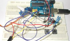 Servo Motor Interfacing with Arduino Uno
