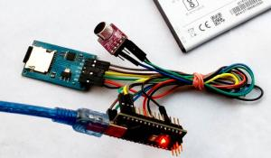 Arduino Voice Recorder for Spy Bug Voice Recording