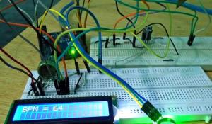 Heart Beat Monitoring over Internet using Arduino and ThingSpeak
