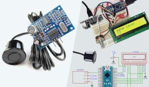 Measuring Water Level using Arduino and JSN SR-40T Waterproof Ultrasonic Sensor