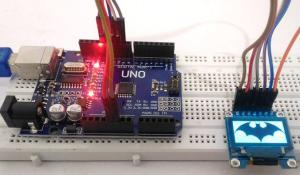 Interfacing SSD1306 OLED Display with Arduino