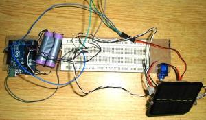 Arduino Solar Tracker using LDR and Servo Motor