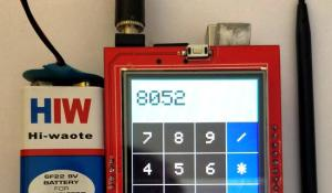 Arduino Uno Calculator using Touchscreen TFT LCD