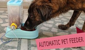 Automatic Pet Feeder using Blynk App