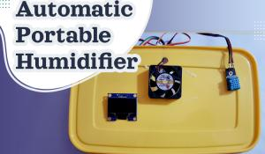 DIY Automatic Portable Humidifier using Arduino
