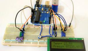 BMP280 Pressure Sensor Module Interfacing with Arduino
