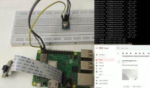 IoT Based Contactless Body Temperature Monitoring using Raspberry Pi