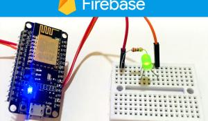 Controlling LED using Google Firebase Console using ESP8266