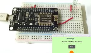 How to build NodeMCU Webserver and control an LED from a Webpage