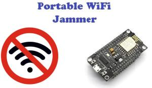 DIY Wi-Fi Jammer using NodeMCU ESP12