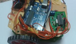 DTMF Controlled Robot using Arduino Uno