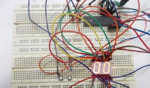 Decimal Counter using 7 Segment Display