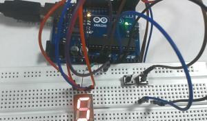 Digital Dice using Arduino