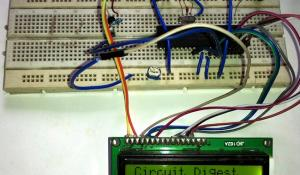 Digital Thermometer using a PIC Microcontroller and DS18B20