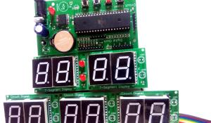 Digital Wall Clock using AVR Microcontroller Atmega16 and DS3231 RTC