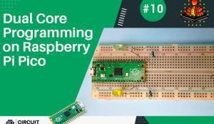 Dual Core Programming on the Raspberry Pi Pico using MicroPython