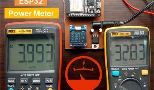 Arduino and ESP32 Based Power Meter