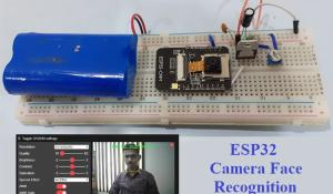 ESP32 Camera Face Recognition
