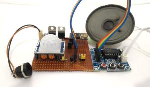 IOT based Security System with Voice Message Using ESP8266