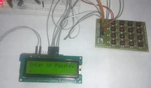 Electronic code lock using 8051 Microcontorller