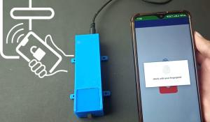 Fingerprint Controlled Solenoid Door Lock using Arduino