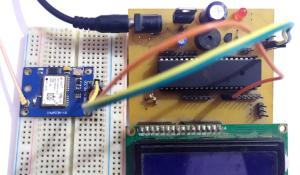 GPS Interfacing with AVR Microcontroller