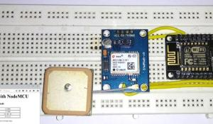 GPS Interfacing with NodeMCU: Getting Location Data