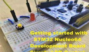 STM32 Nucleo64 Development Board