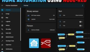 Home Automation using Node-Red