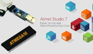 How to program AVR Microcontroller Atmega16 Using USBASP programmer and Atmel Studio 7.0