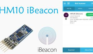 How to setup HM-10 BLE Module as iBeacon