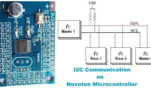 I2C Communication on Nuvoton N76E003 Microcontroller