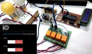 IoT based Web controlled Home Automation using PIC Microcontroller and Adafruit IO