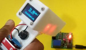 IR Thermometer using Arduino and Infrared Temperature Sensor