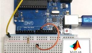Interface Arduino with MATLAB