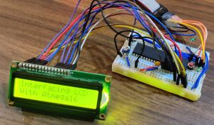 Interfacing 16x2 LCD with Atmega16 AVR Microcontroller in 4-Bit Mode