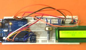 Interfacing BH1750 Ambient Light Sensor with Arduino