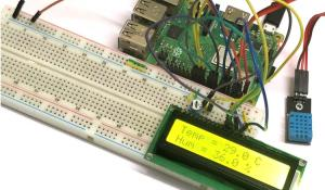 Interfacing DHT11 with Raspberry Pi