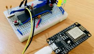 Interfacing ESP8266 NodeMCU with AVR Microcontroller ATmega16