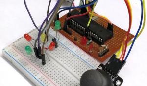 Interfacing Joystick with PIC Micro-controller
