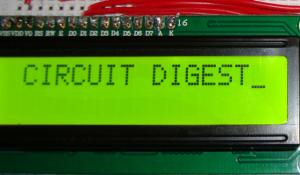 LCD Interfacing with 8051 Microcontroller (89S52)