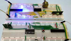 Interfacing RF module with Atmega8: Communication between two AVR Microcontrollers