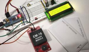 Interfacing RFID with STM32 Microcontroller