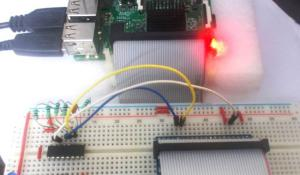Interfacing Shift Register with Raspberry Pi