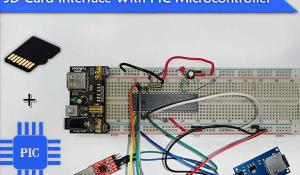 Interfacing SD Card with PIC Microcontroller
