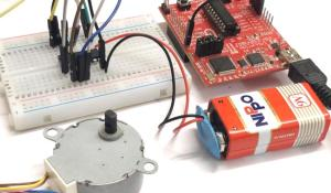 Interfacing Stepper Motor with MSP430G2