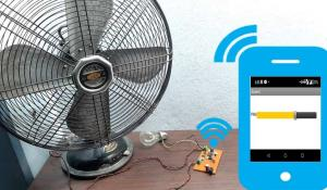 IoT Based AC Fan Speed Control using Smart Phone with NodeMCU and Google Firebase