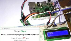 IoT Raspberry Pi Smart Container with Email Alert and Web Monitoring