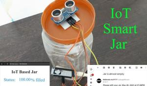 IoT based Smart Jar using NodeMCU
