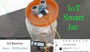 IoT based Smart Jar using NodeMCU